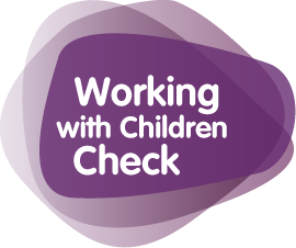 Working with children logo